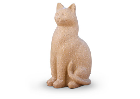 Elite Cat Urn - Fawn Image