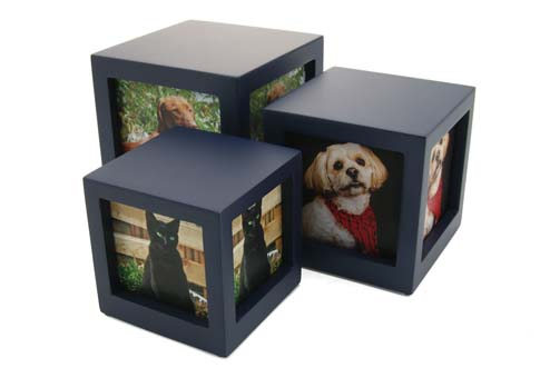 Photo Cubes - Navy Image