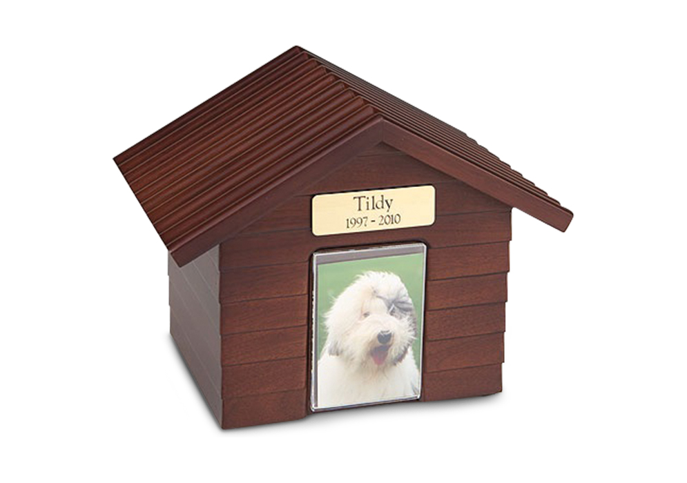 Dog House Urn - Walnut Image
