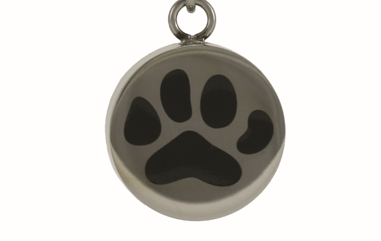 Charm only - Paw Print Image