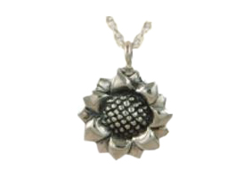 Sunflower Pendant Image