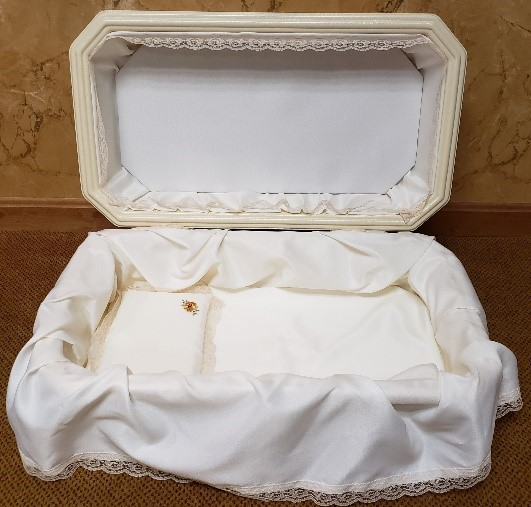 Deluxe Double Layer Casket Image