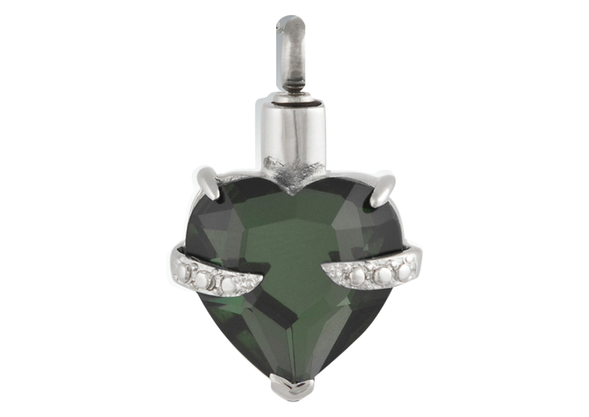 Forever In My Heart Pendant - Emerald Image