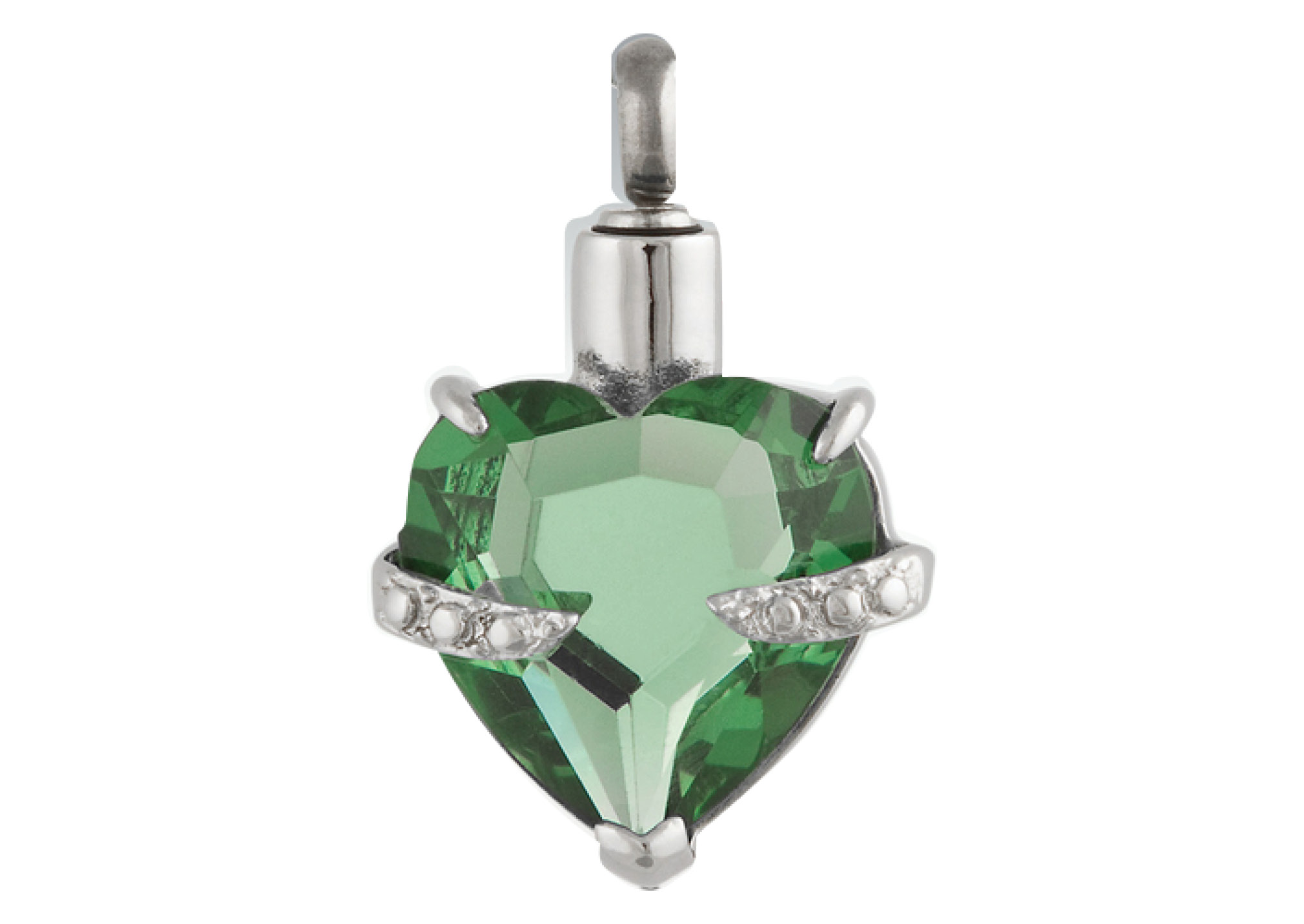 Forever In My Heart Pendant - Peridot Image